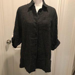 Linen LAUREN Ralph Lauren button down shirt